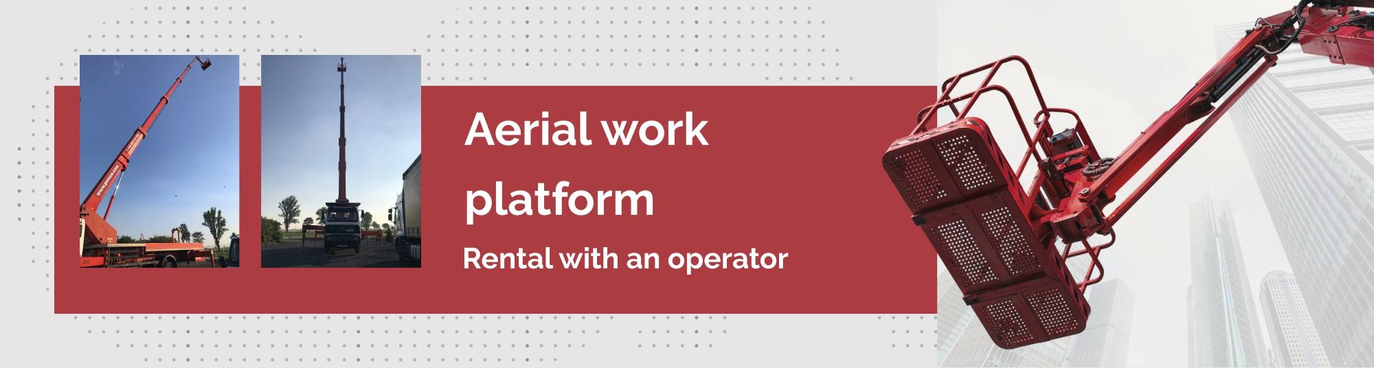 Aerial work platform rental